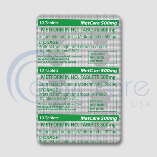 Metformin HCL Tablets Manufacturer 3