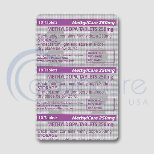 Methyldopa Tablets Manufacturer 3