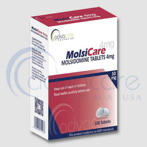 Tabletas de Molsidomina