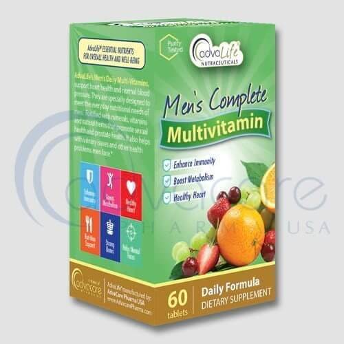 Supplement Vitamines pour hommes