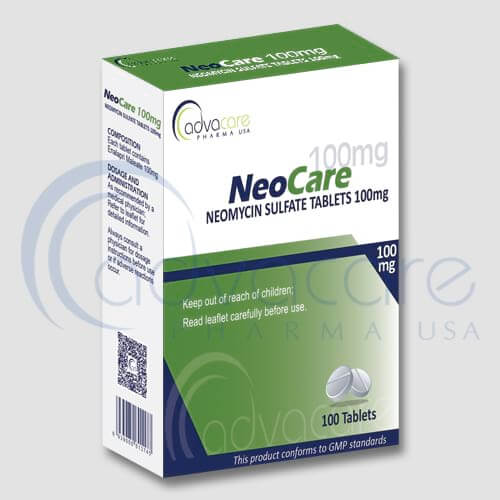 Neomycin Sulfate Tablets Manufacturer 1