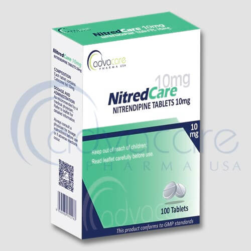 Tabletas de Nitrendipina