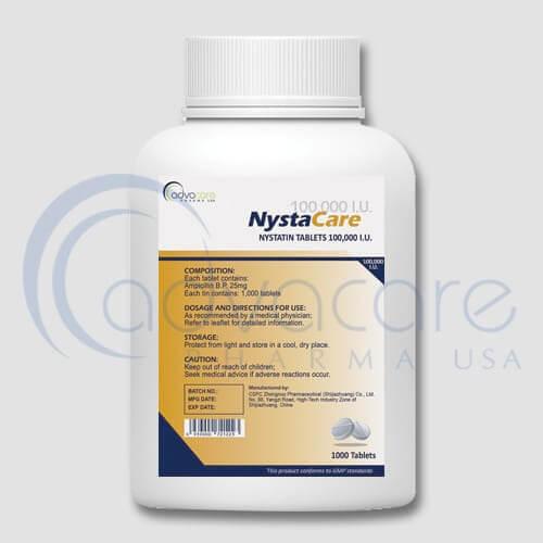 Comprimés de Nystatine