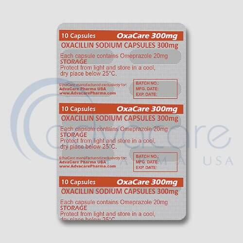 Oxacillin Sodium Capsules Manufacturer 2
