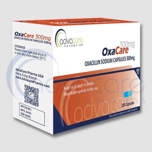 Capsules de Sodium d'Oxacilline