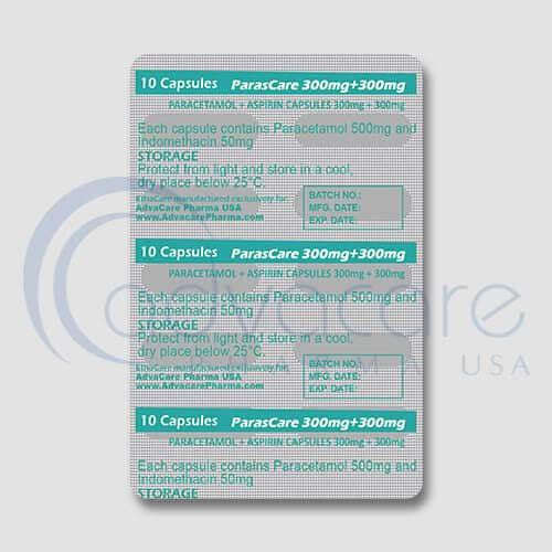 Paracetamol + Aspirin Capsules Manufacturer 3