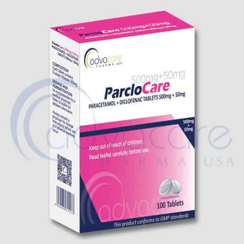Paracetamol + Diclofenac Tablets Manufacturer 1