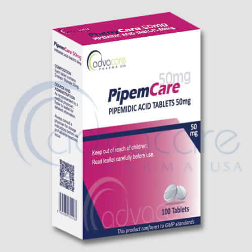 Pipemidic Acid Tablets Manufacturer 1