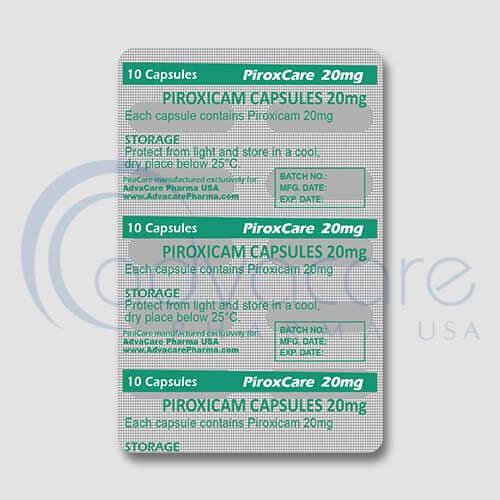 Piroxicam Capsules Manufacturer 4