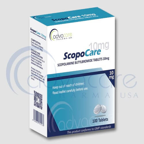 Scopolamine Butylbromide Tablets Manufacturer 1