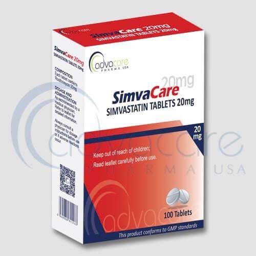Tabletas de Simvastatina