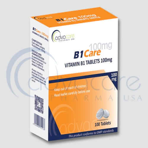 Vitamin B1 (Thiamine) Tablets Manufacturer 1