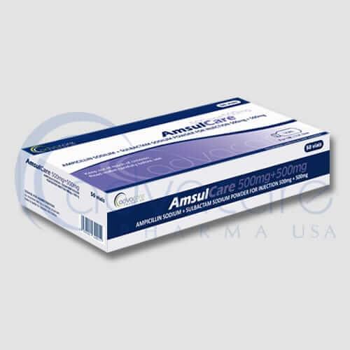 Ampicillin Sodium + Sulbactam Sodium Powder for Injections Manufacturer 1