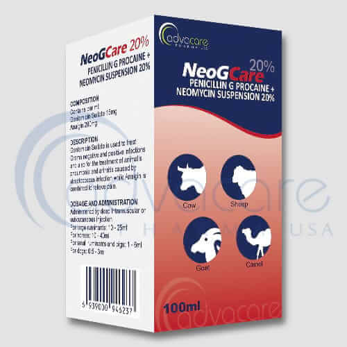 Penicillin G Procaine + Neomycin Suspension Manufacturer 1