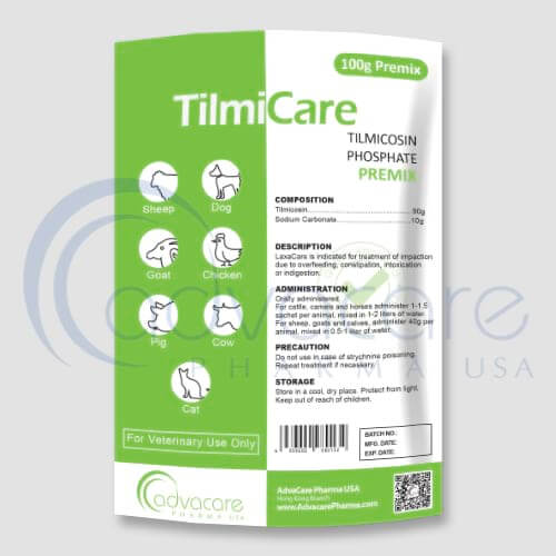 Premix de phosphate de tilmicosine