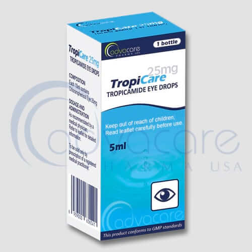 Tropicamide Eye Drops