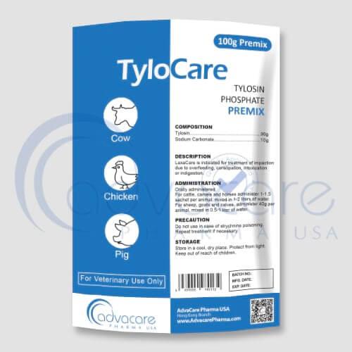 Prémix de phosphate de tylosine