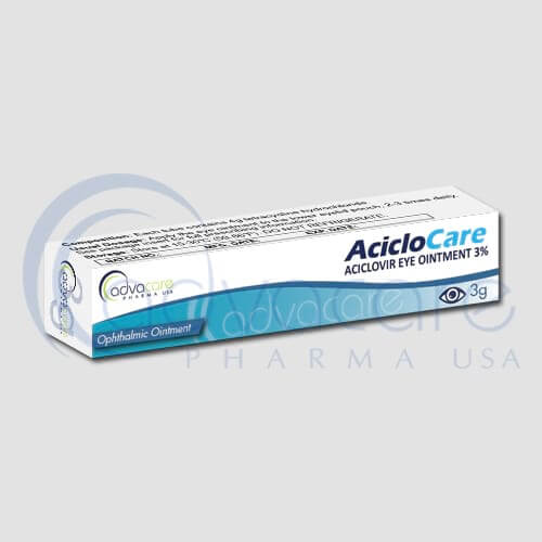 Aciclovir Eye Ointments
