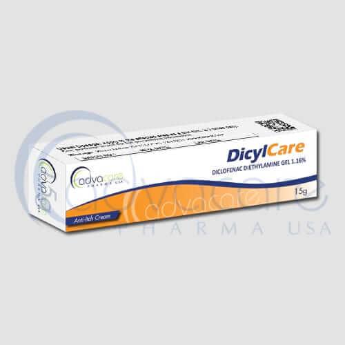 Diclofenac Diethylamine Gels