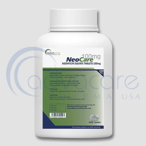 Neomycin Sulfate Tablets Manufacturer 2