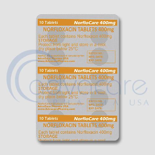 Norfloxacin Tablets Manufacturer 3