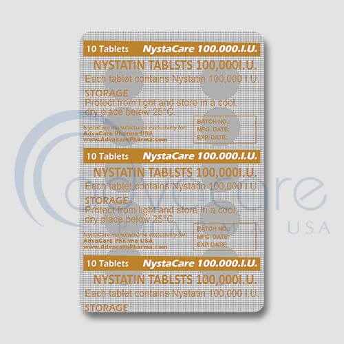 Nystatin Tablets Manufacturer 3