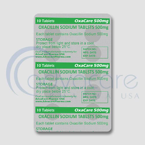 Oxacillin Sodium Tablets Manufacturer 3