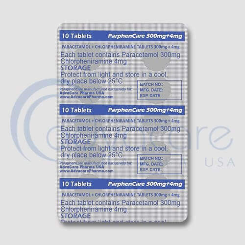 Paracetamol + Chlorpheniramine Maleate Tablets Manufacturer 3