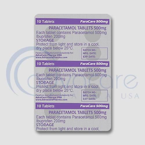 Paracetamol Tablets In Usa