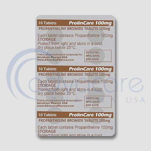 Propantheline Bromide Tablets Manufacturer 3