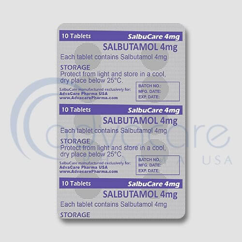 Salbutamol Tablets Manufacturer 3