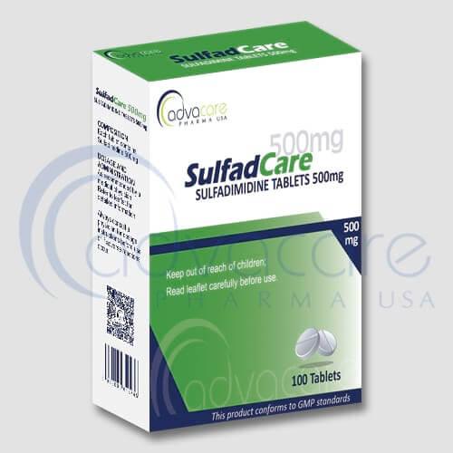 Comprimés de Sulfadimidine