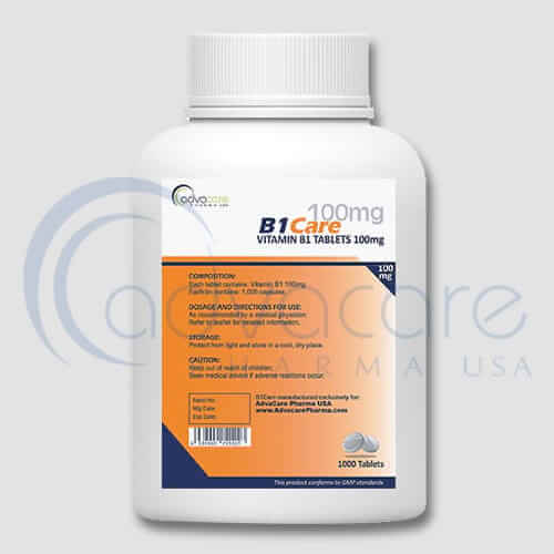 Vitamin B1 (Thiamine) Tablets Manufacturer 2