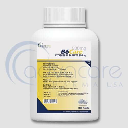 Vitamin B6 Tablets Manufacturer 2