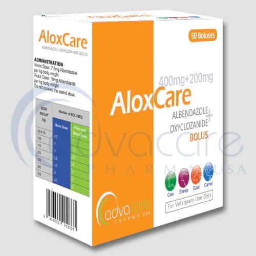 Bolos de Albendazol + Oxiclozanida