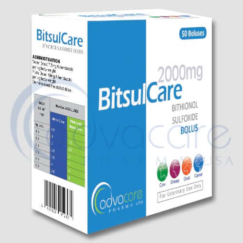 Bithionol Sulfoxide Boluses