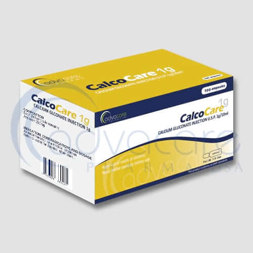Calcium Gluconate Injections Manufacturer 2