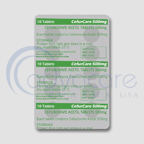 Cefuroxime Axetil Tablets Manufacturer 3