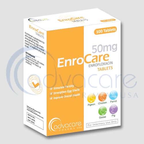 Comprimés d'enrofloxacine