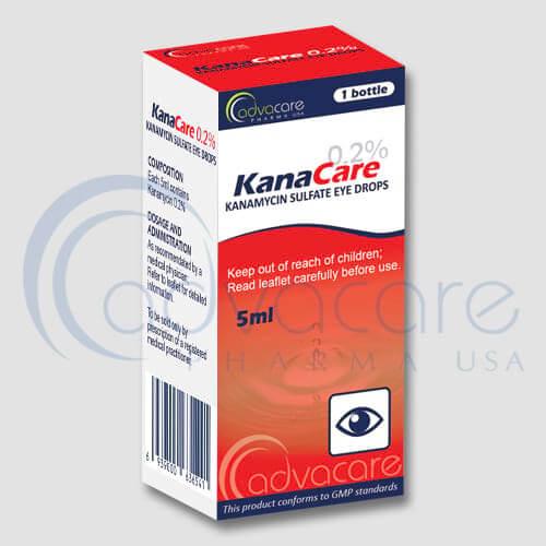 Gotas de Sulfato de Kanamicina para Ojos