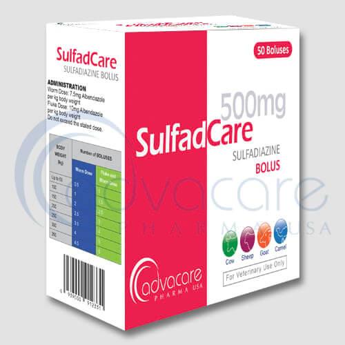 Bolos de Sulfadimidina
