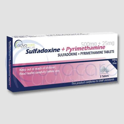 Fabricant de Sulfadoxine + Pyrimethamine antipaludique en tablette