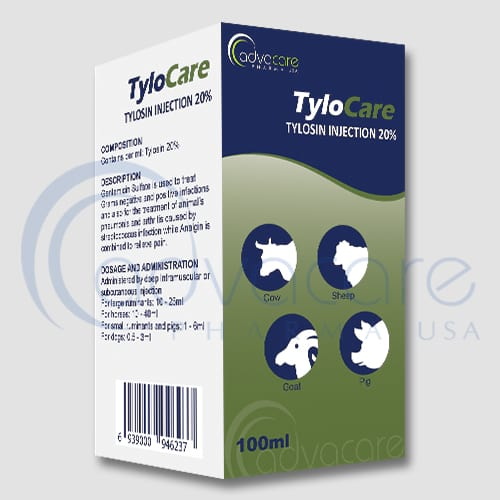 Tylosin Injections Manufacturer 1