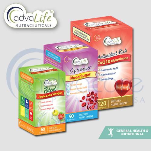 CoQ10 / Coenzyme Q10 (Ubiquinone) + Vitamin E