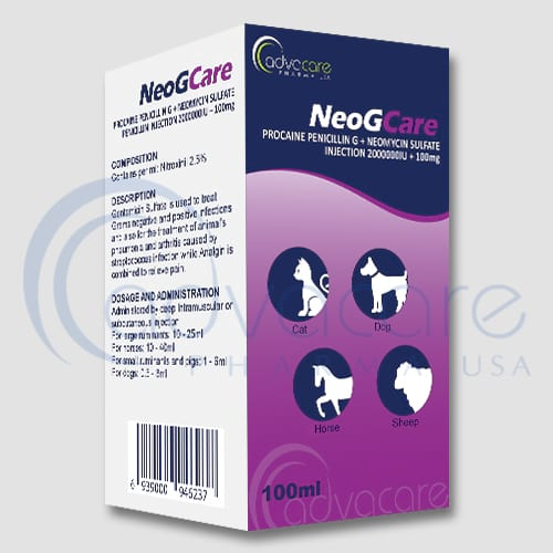 Procaine Penicillin G + Neomycin Sulfate Injections Manufacturer 1