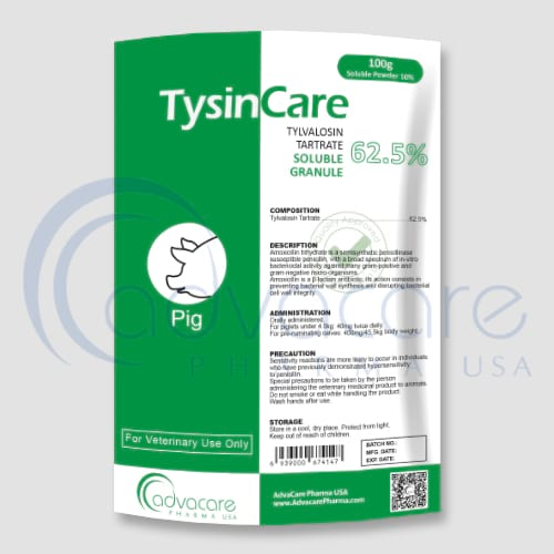 Tylvalosin Tartrate Soluble Granules