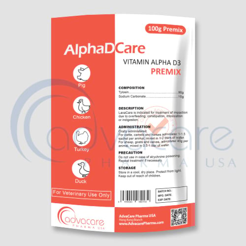 Vitamin Alpha D3 Premixes
