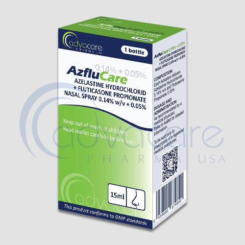 Azelastine HCL Fluticasone Propionate Nasal Spray